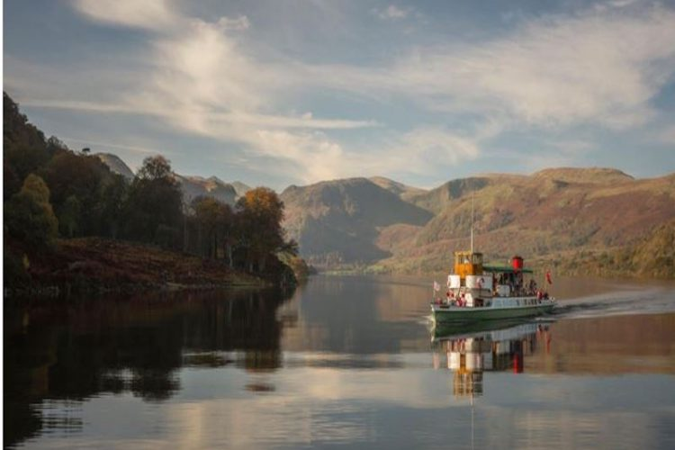 The Steamers on Ullswater